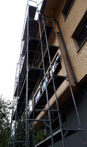 Vermiete Fassaden Gerüst