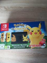 Nintendo Switch pokemon Edition Neu