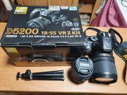 Nikon D5200 mit 2 Objektiven