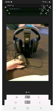 Sennheiser Headset mit Ladegerät