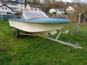 Boot motorboot trailer aussenborder mercury