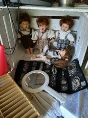 Sammel-Puppen hübsche Gesichter
