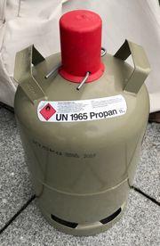 11 kg graue Gasflaschen leer
