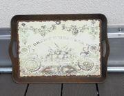 vintage Tablett