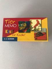 Memo Tier-Memo Kunst für Kinder