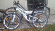 Fahrrad 24 Zoll weiss