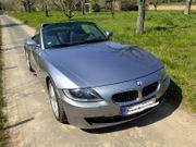 BMW Z4 Cabrio silber metallic