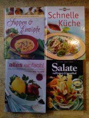 Bücher Kochbücher 4 Stück