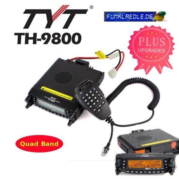TYT-TH 9800 PLUS quad Band