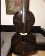 Alte Wunderschöne Kontrabass