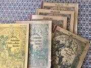 Antike Hauskalender - Raritäten - Zeitschriften - Kalender