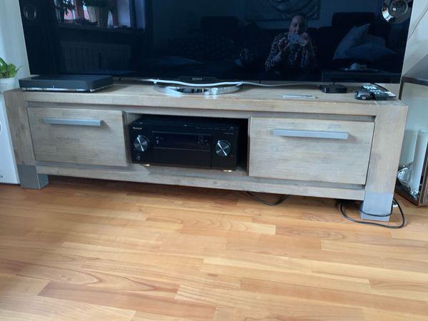 TV Lowboard Wandboard Akazie Massivholz