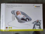 hauck Neugeborenen- und Babyaufsatz Alpha-Bouncer