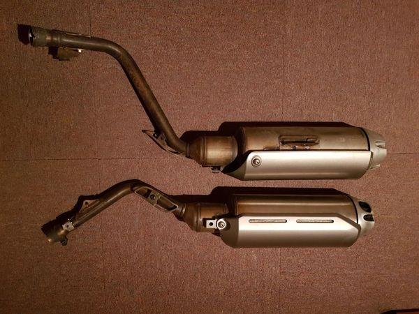 Honda FMX 650 Auspuff