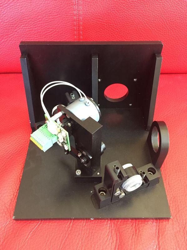 Rofin Laser Steuermotor im Alublock