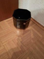 Atelier Keramik Spang Blumentopf schwarz