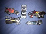 5 Hotwheels Rennstrecke