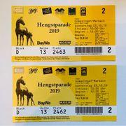 Tickets Hengstparade 2019 Gestüt Marbach