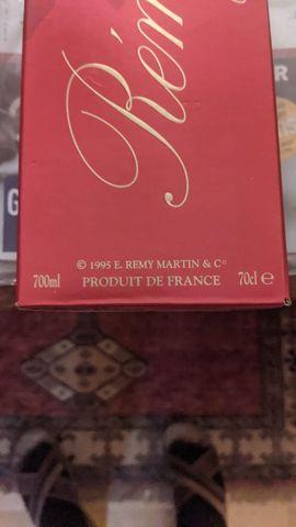 Alles Mögliche - Cognac Remy Martin von 1995