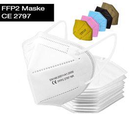 CE zertifizierte FFP2 Masken in verschiedenen Farben