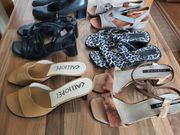 6 Paar Schuhe Gr 36