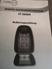 Massagesitzauflage--Shiatsu