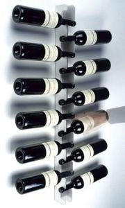 Weinrack - Flaschenregal aus Edelstahl