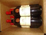 Günstig - Posten Bordeaux Rot Weiß