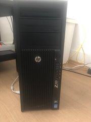 Computer mit Bildschirm pc