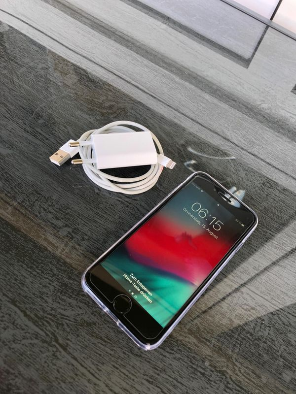 iPhone 7 Schwarz Matt 128GB