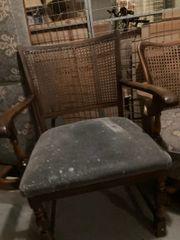 4 Stühle aus den 50-60