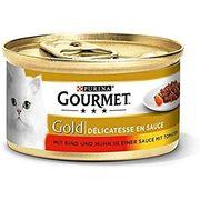 Katzenfutter 100 Dosen GOURMET GOLD