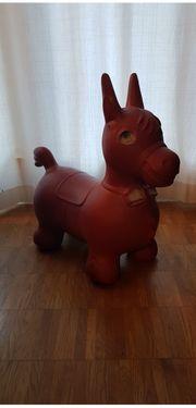 Rody Hüpfpferd rot