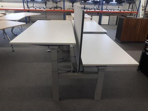 Workbench Doppelarbeitsplatz elektrisch Steelcase