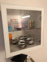 Vitrine in weiß IKEA