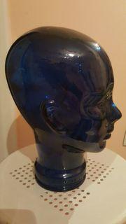 Kopfhörer-Glaskopf