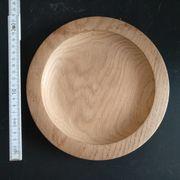 Holzteller Naturholz rissfrei