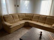 Sofa Couch Ecksofa Leder