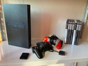 PlayStation 2 inkl Spiele und