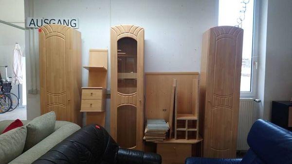 Wohnwand Schrankwand 5-teilig Wohnzimmerschrank
