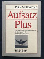 Buch Aufsatz Plus mit Lösungsheft