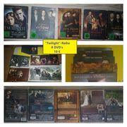 Twilight-DVDs zu verkaufen