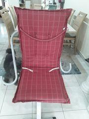 Auflage für Stühle 4Stück