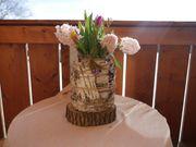 Vase aus Birkenrinde