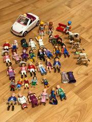 Playmobil Figuren und Pferde