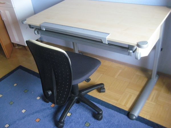 Kinder Jugend Schreibtisch Kettler höhenverstellbar