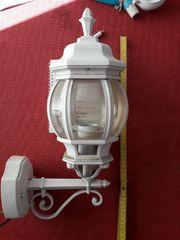 Gartenwandlampe