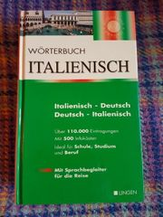 Wörterbuch Italienisch - über 110 000