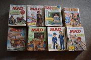 Große Sammlung der ersten MAD-Hefte