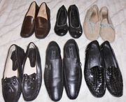 6 Paar Leder Schuhe Gr